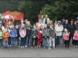 Kinderheim Strehla: Mit dem Lions-Club im Saurierpark
