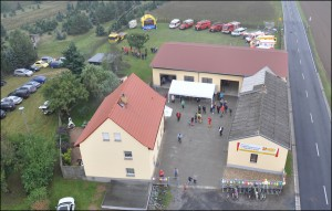 Das neue Zentrum für Katastrophenschutz und Notfallvorsorge in Lichtensee (Foto: ASB Riesa)