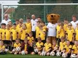 Dynamos Fußballschule zu Gast in Riesa