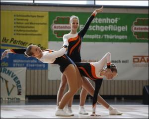 Das Trio AK 12-14 (Pauline Richter, Tessa Neumann, Angelina Huß) - Foto: R. Fleck/ESV Lok Riesa