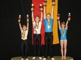 Akrobaten gewinnen 9 Deutsche Meistertitel