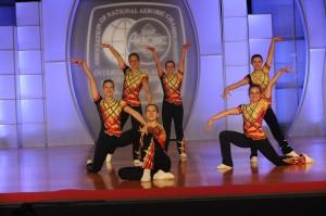 Das erfolgreiche Dance-Team mit Luisa Riedel (Foto: ESV Lok Riesa)