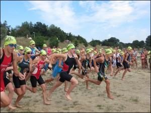 Schwimmstart bei der Sachsenmeisterschaft (Foto: SC Riesa)