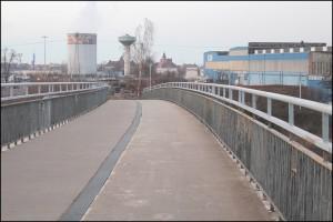 "Die Riesaer ""Blechbrücke"" (Foto: U. Päsler)"
