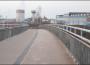 """""""Blechbrücke"""" wird gesichert"""