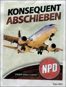 NPD-Plakat 5.2.2016